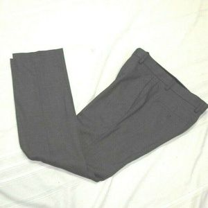 Mens Stretch Slim-Fit Dress Pants Gray 29 x 30